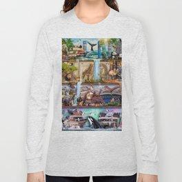 The Amazing Animal Kingdom Long Sleeve T-shirt