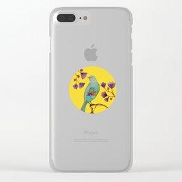 ce que la vie nous donne Clear iPhone Case