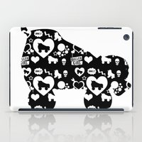 roller derby iPad Cases featuring Roller Derby Skate Print by Mean Streak