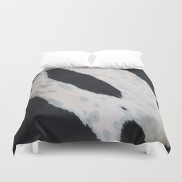 Leather background Duvet Cover