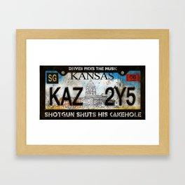 1967 Chevy Impala - KAZ2Y5 Framed Art Print