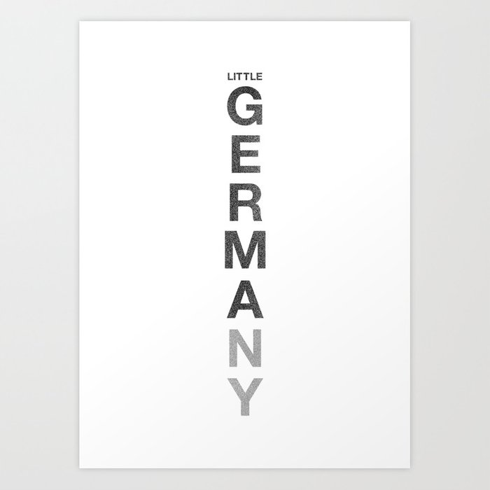 Little Germany NY Art Print