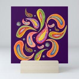 Paisley 2 Mini Art Print