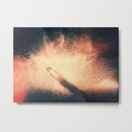 Feeling of Swimming Metal Print