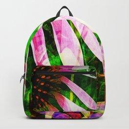 Medicinal Purple Flower Backpack