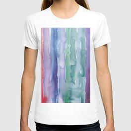 29     190907   Watercolor Abstract Painting T-shirt
