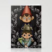 over the garden wall Stationery Cards featuring Over the Garden Wall. by toibi