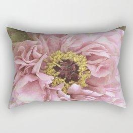 summertime peony Rectangular Pillow
