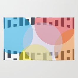 Tech Point  geometric lines background #society6 #decor #buyart #artprint Rug