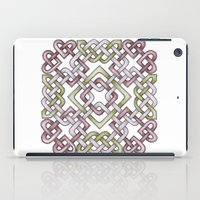 celtic iPad Cases featuring Celtic Knotwork by Carrie at Dendryad Art