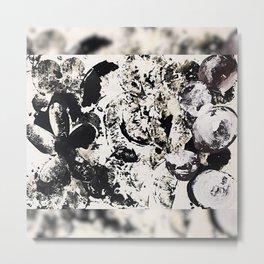 Monochrome V Metal Print