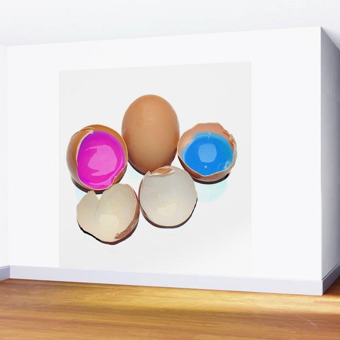 Eggs Wall Mural