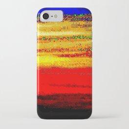 glitch nova oscar iPhone Case