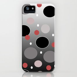 Polka Dotty: Gradients iPhone Case