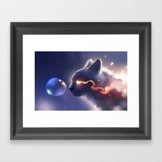 Dark Fuse Framed Art Print