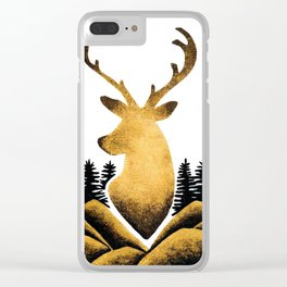 King of the Forest Clear iPhone Case
