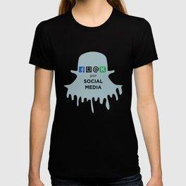 FU@K YOUR SOCIAL MEDIA  T-shirt