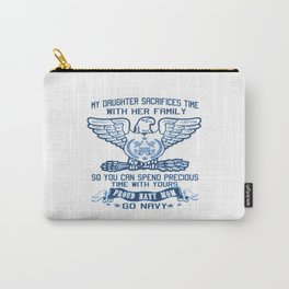 PROUD NAVY MOM Carry-All Pouch