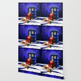 10th Doctor Relax before Christmas Wallpaper