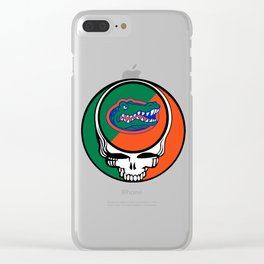 Finally, the Dead are in Gainesville Clear iPhone Case