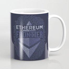 Ethereum Frontier Grunge original on dark blue Coffee Mug