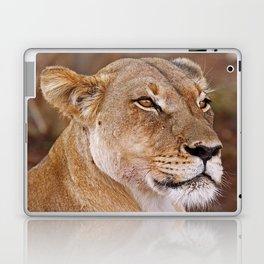 Lioness in Africa, wildlife Laptop & iPad Skin