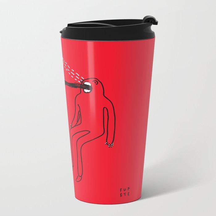 Mouth Metal Travel Mug