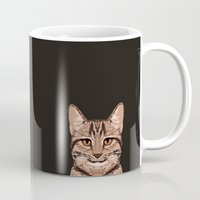 ripley Mugs featuring Ripley - Tabby Cat cute cat gifts for cat people and cat lady gift ideas for the cat lover  by PetFriendly