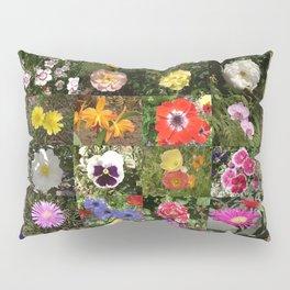 Flowers Montage Pillow Sham