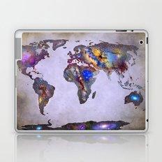 Stars world map. Space. Laptop & iPad Skin