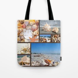 Seashell Treasures From The Sea Tote Bag