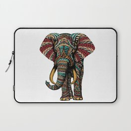 Ornate Elephant (Color Version) Laptop Sleeve