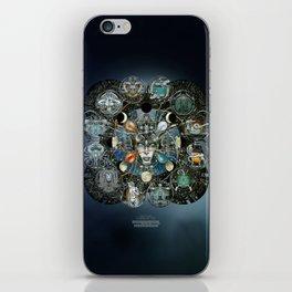 """Astrological Mechanism - Zodiac"" iPhone Skin"