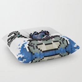 Fizz, The Pixel Trickster Floor Pillow