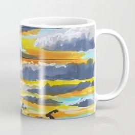 Suburban Sunset Coffee Mug