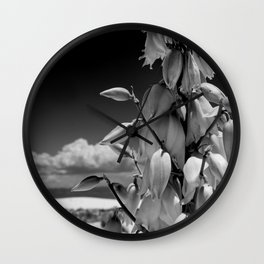 Dare to Bloom. Wall Clock