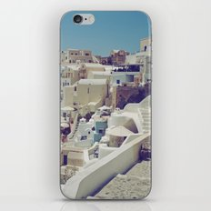 Streets of Santorini II iPhone & iPod Skin
