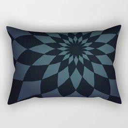 Wonderland Floor in Muted Rain Colors Rectangular Pillow