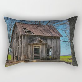 Little house on the prairie cabin Rectangular Pillow