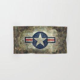 US Air force style insignia V2 Hand & Bath Towel