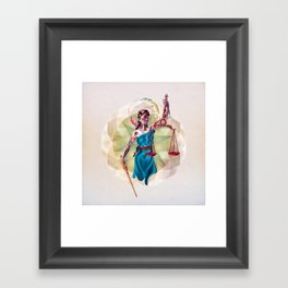 Themis Framed Art Print