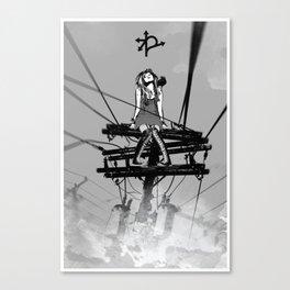 CROSSROAD GUARDIAN - GMB CHOMICHUK Canvas Print