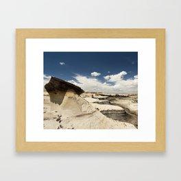 Bisti Hoodoo Framed Art Print