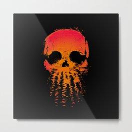 Skullset Metal Print