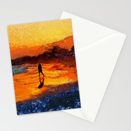 Last Light of the Day Stationery Cards