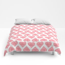 fml forever Comforters