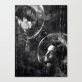 Call me across the universe Canvas Print
