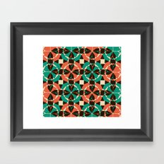 you can stay Framed Art Print