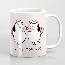 I Love You Moo Coffee Mug