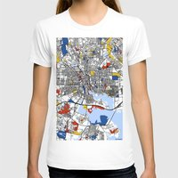 mondrian T-shirts featuring Baltimore Mondrian by Mondrian Maps